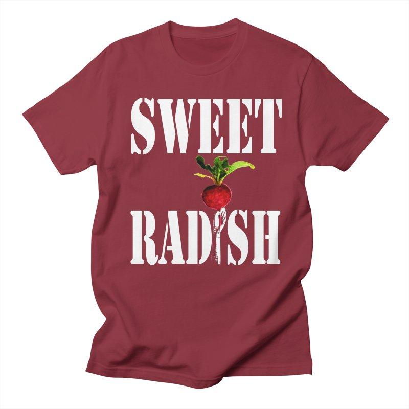 Sweet Radish Stencil Women's Regular Unisex T-Shirt by jackrabbithollow's Artist Shop