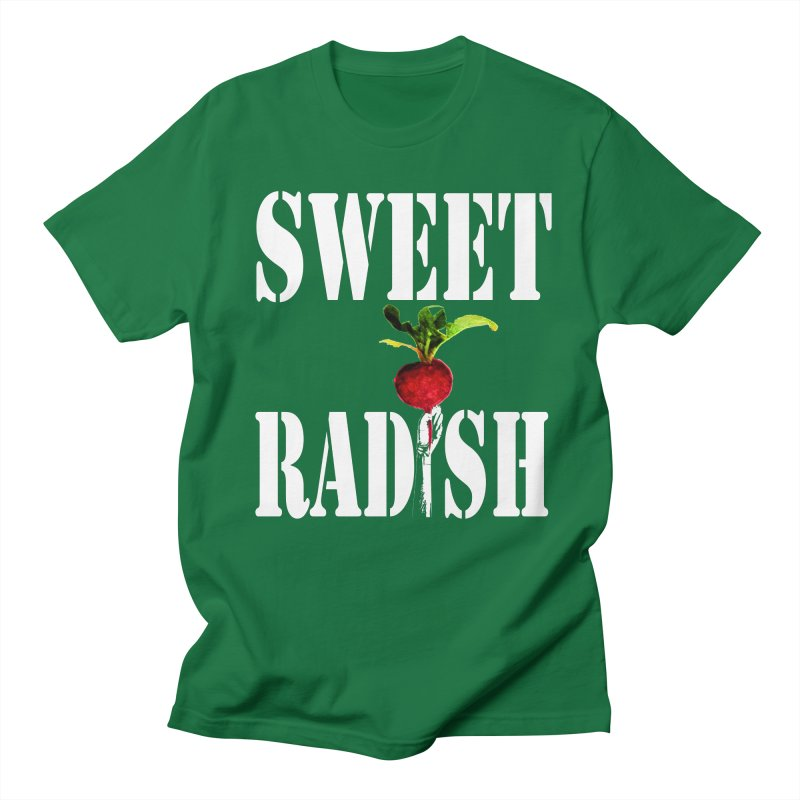 Sweet Radish Stencil Men's T-Shirt by jackrabbithollow's Artist Shop