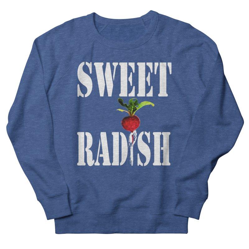 Sweet Radish Stencil Men's French Terry Sweatshirt by jackrabbithollow's Artist Shop
