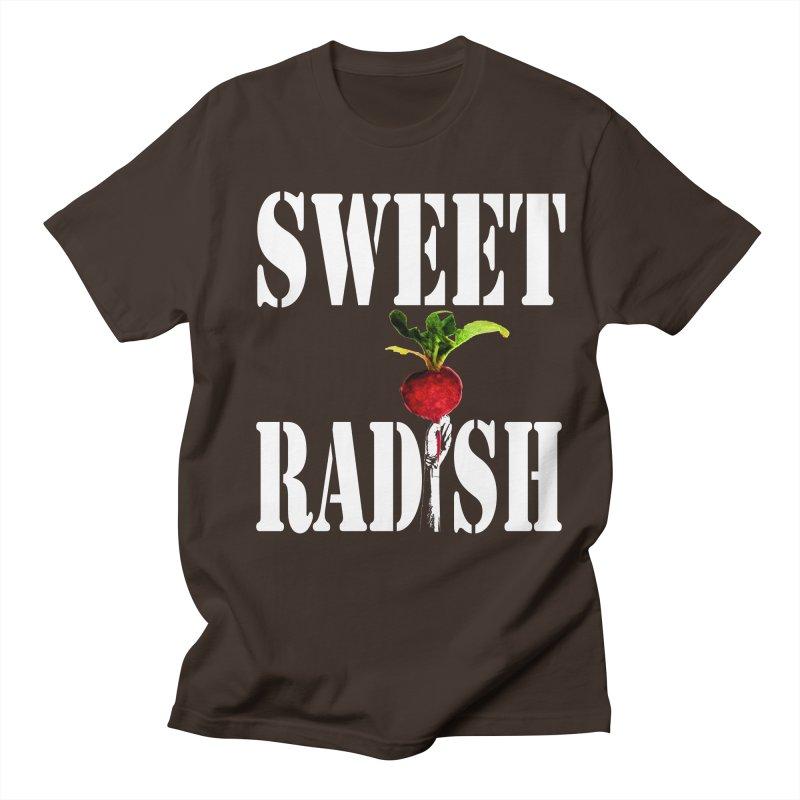 Sweet Radish Stencil Men's Regular T-Shirt by jackrabbithollow's Artist Shop