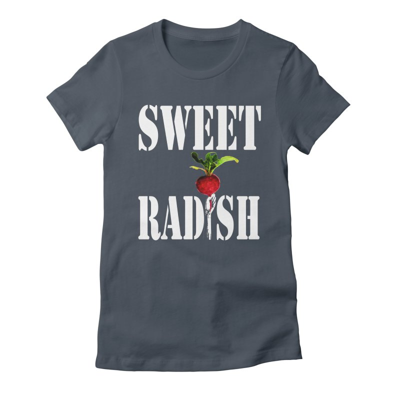 Sweet Radish Stencil Women's T-Shirt by jackrabbithollow's Artist Shop