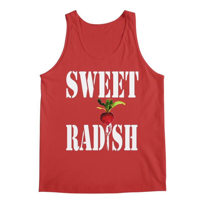 Sweet Radish Stencil Men's Regular Tank by jackrabbithollow's Artist Shop