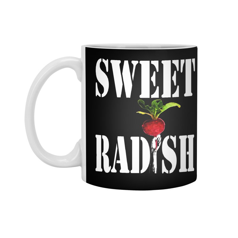 Sweet Radish Stencil Accessories Standard Mug by jackrabbithollow's Artist Shop