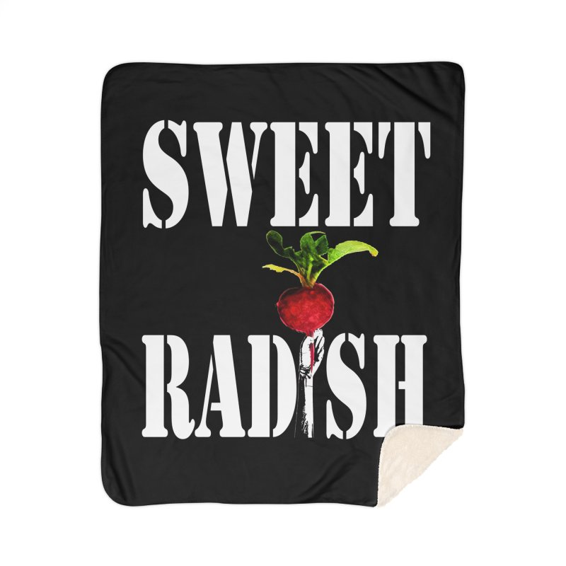 Sweet Radish Stencil Home Blanket by jackrabbithollow's Artist Shop