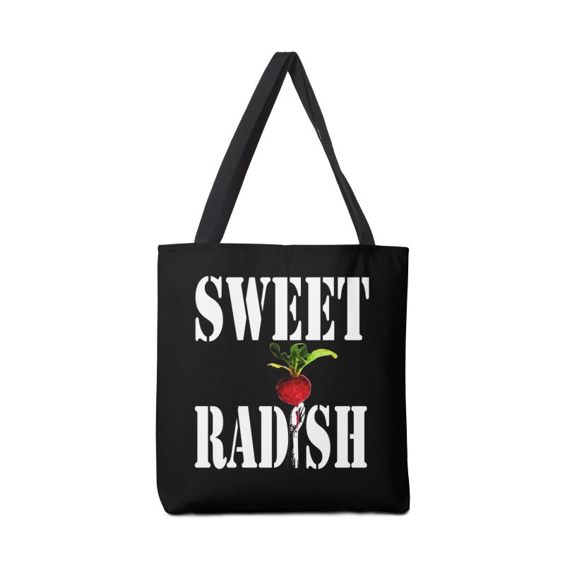 Sweet Radish Stencil Accessories Tote Bag Bag by jackrabbithollow's Artist Shop
