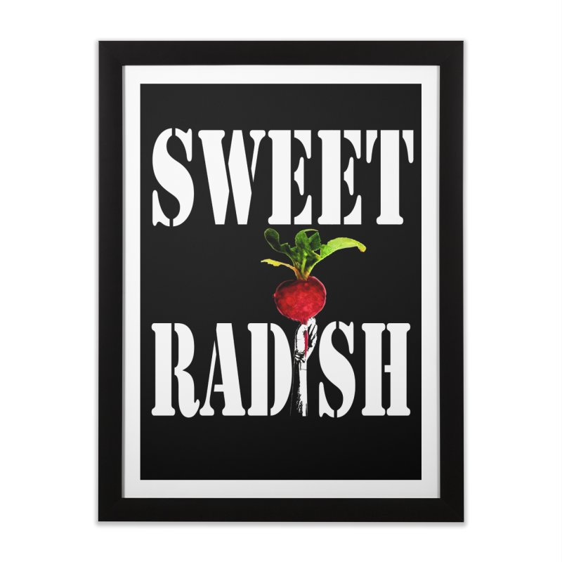 Sweet Radish Stencil Home Framed Fine Art Print by jackrabbithollow's Artist Shop