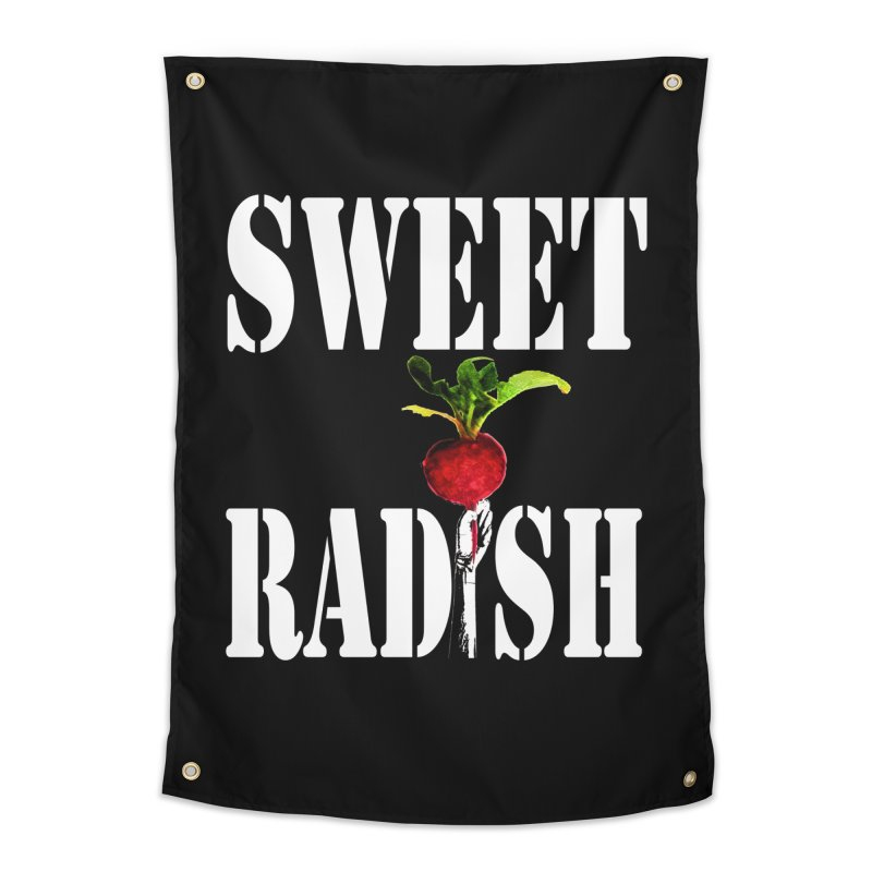 Sweet Radish Stencil Home Tapestry by jackrabbithollow's Artist Shop