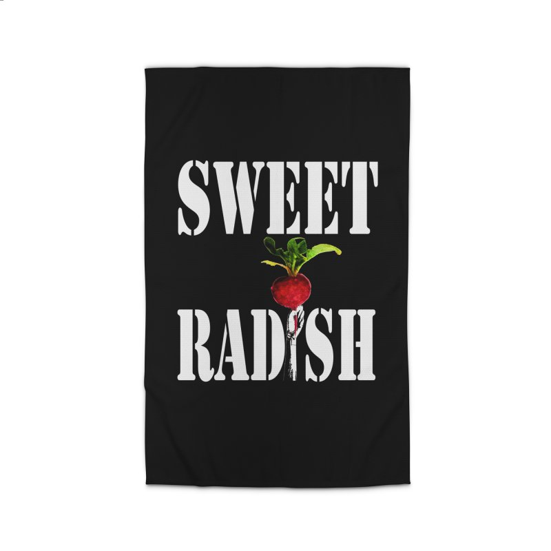 Sweet Radish Stencil Home Rug by jackrabbithollow's Artist Shop