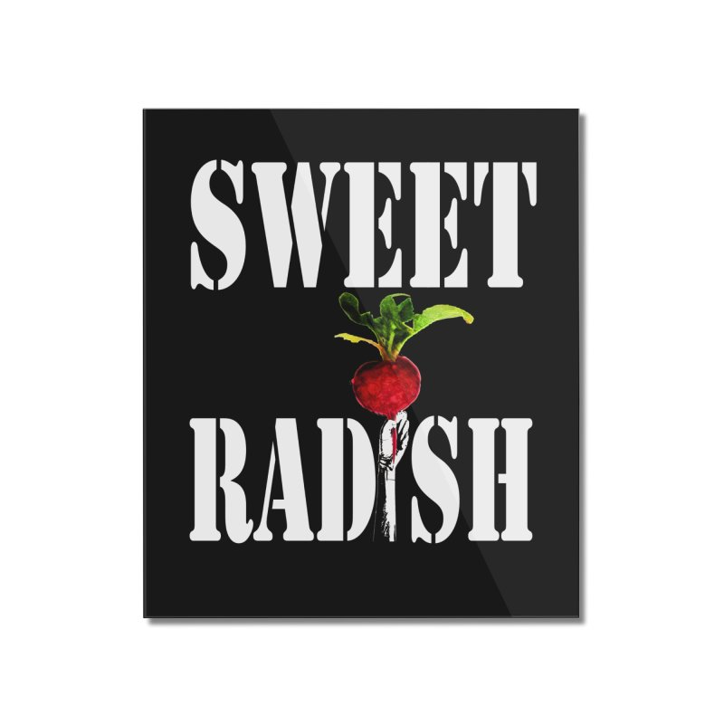 Sweet Radish Stencil Home Mounted Acrylic Print by jackrabbithollow's Artist Shop