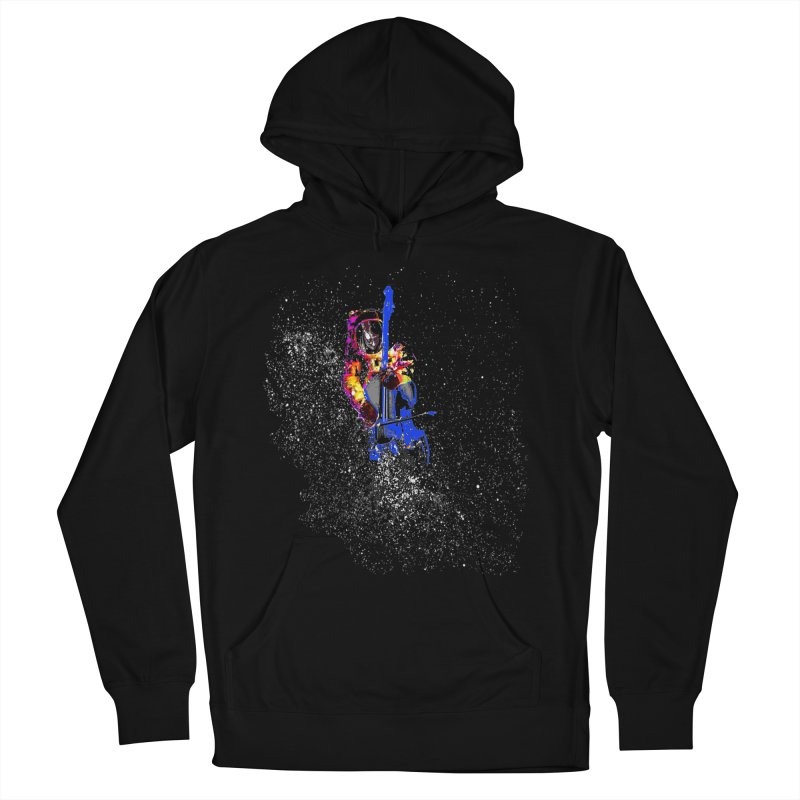 SPACE BASS Men's Pullover Hoody by jackrabbithollow's Artist Shop
