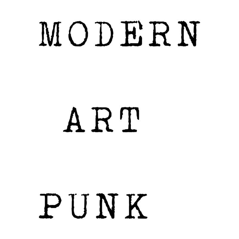 Modern Art Punk Women's T-Shirt by Jack Walls