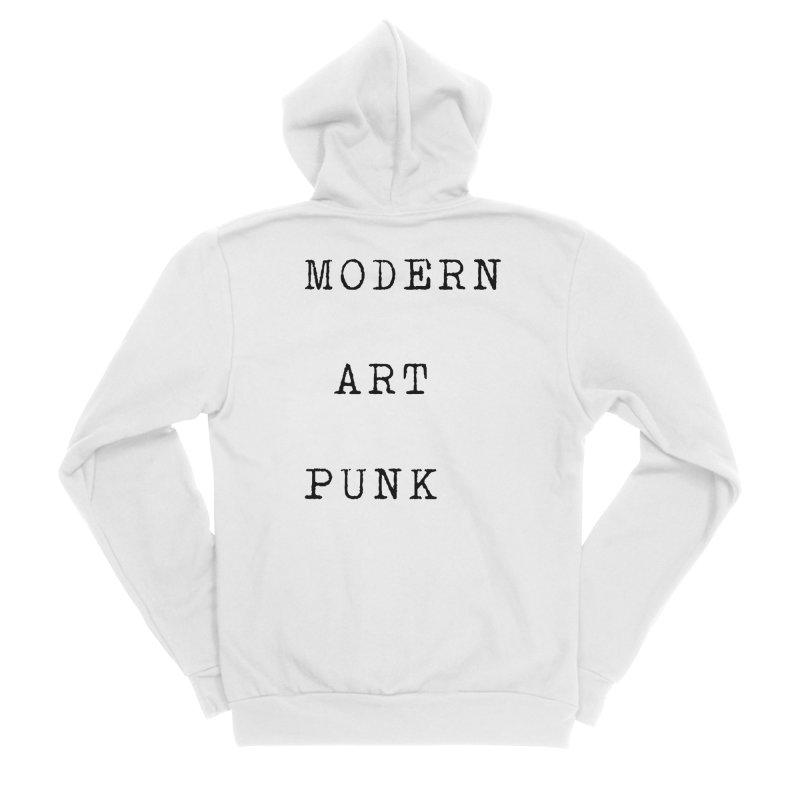 Modern Art Punk Women's Zip-Up Hoody by Jack Walls