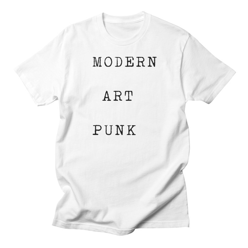 Modern Art Punk Men's T-Shirt by Jack Walls
