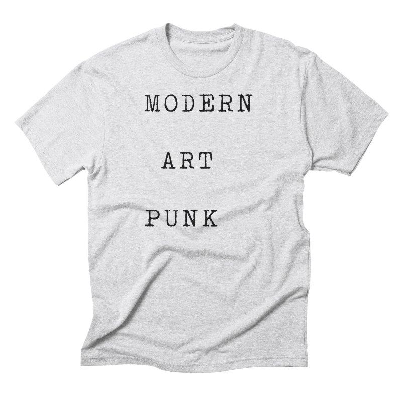 Modern Art Punk Men's T-Shirt by Jack Walls