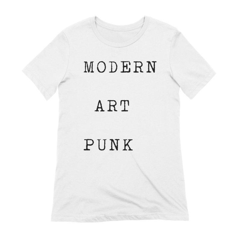 Modern Art Punk Women's T-Shirt by Jack Walls