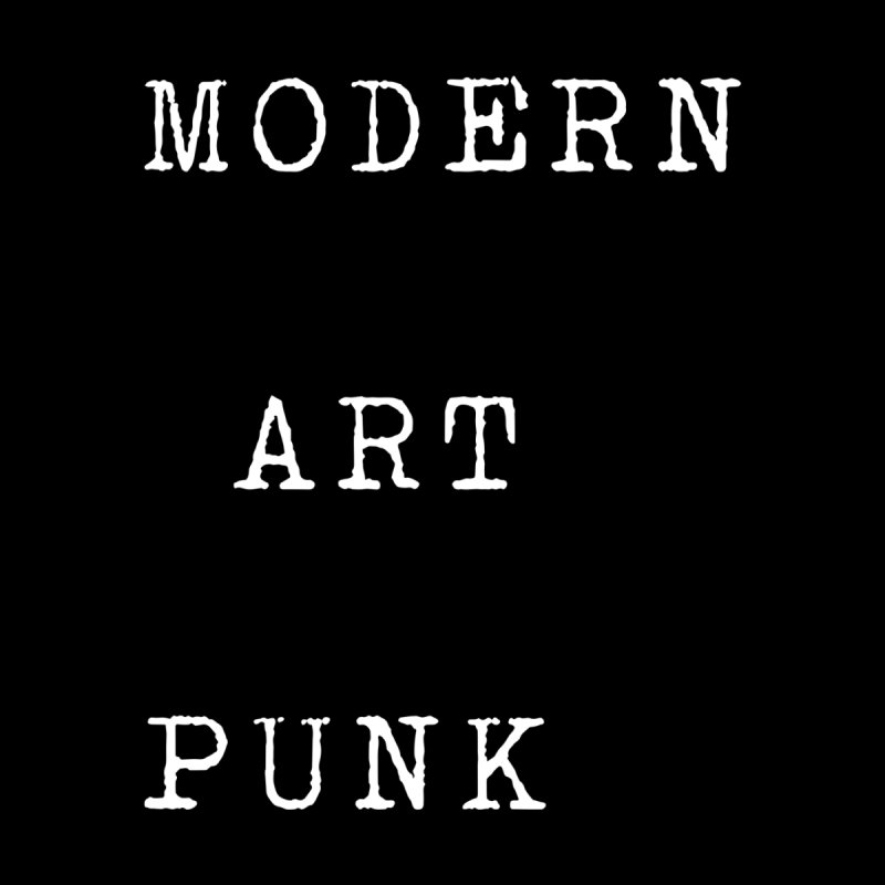 Moden Art Punk White Lettering Men's Pullover Hoody by Jack Walls