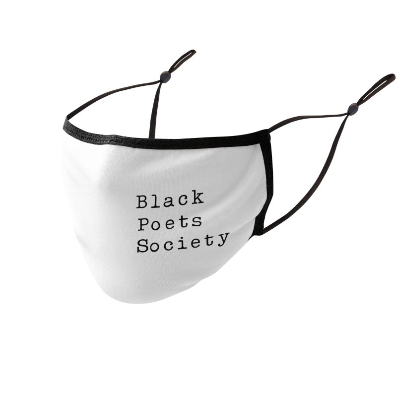 Black Poets Society Accessories Face Mask by Jack Walls
