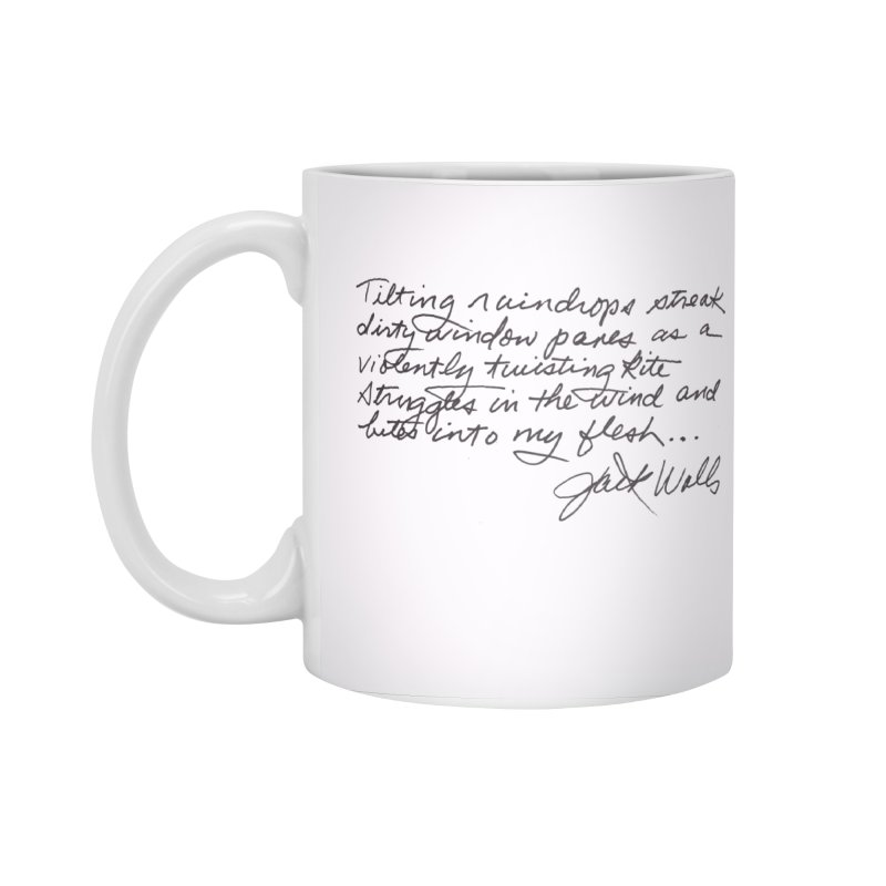 Poem Cup in Standard Mug White by Jack Walls