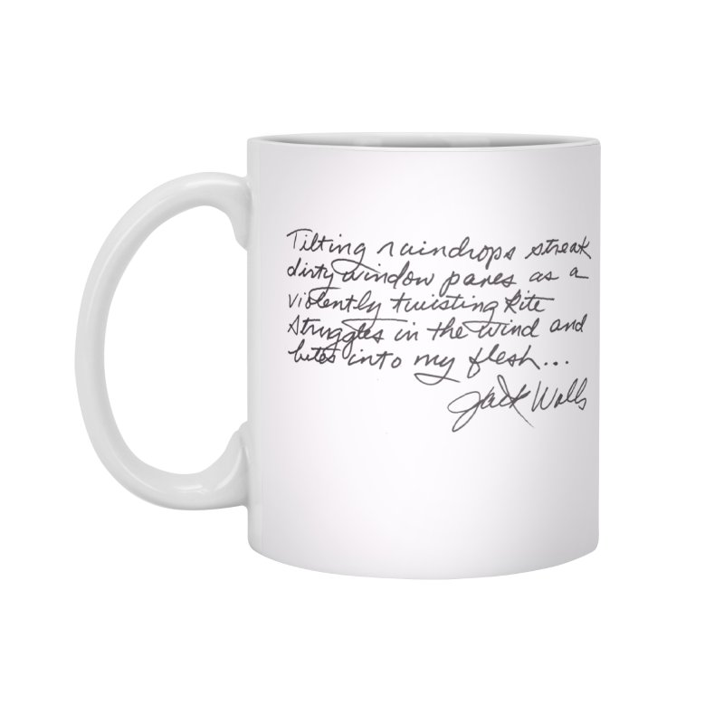 Poem Cup Accessories Standard Mug by Jack Walls
