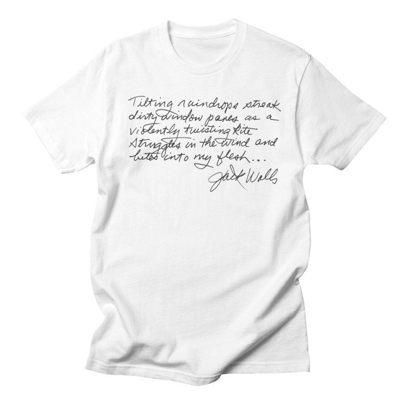 Poem Men's T-Shirt by Jack Walls