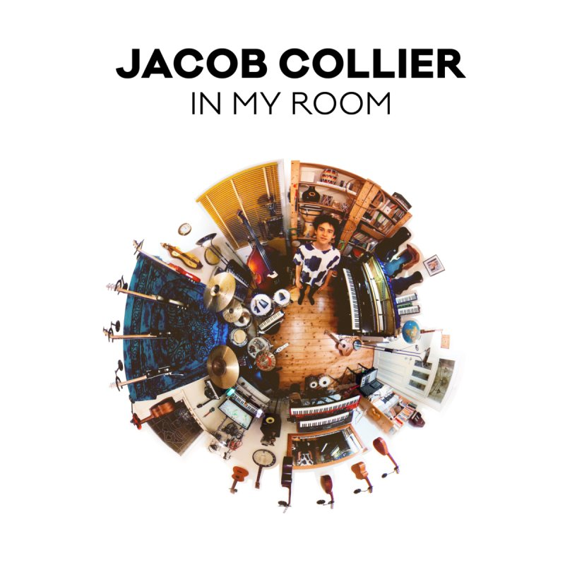 IN MY ROOM – JACOB COLLIER (black text) by Jacob Collier's Shop