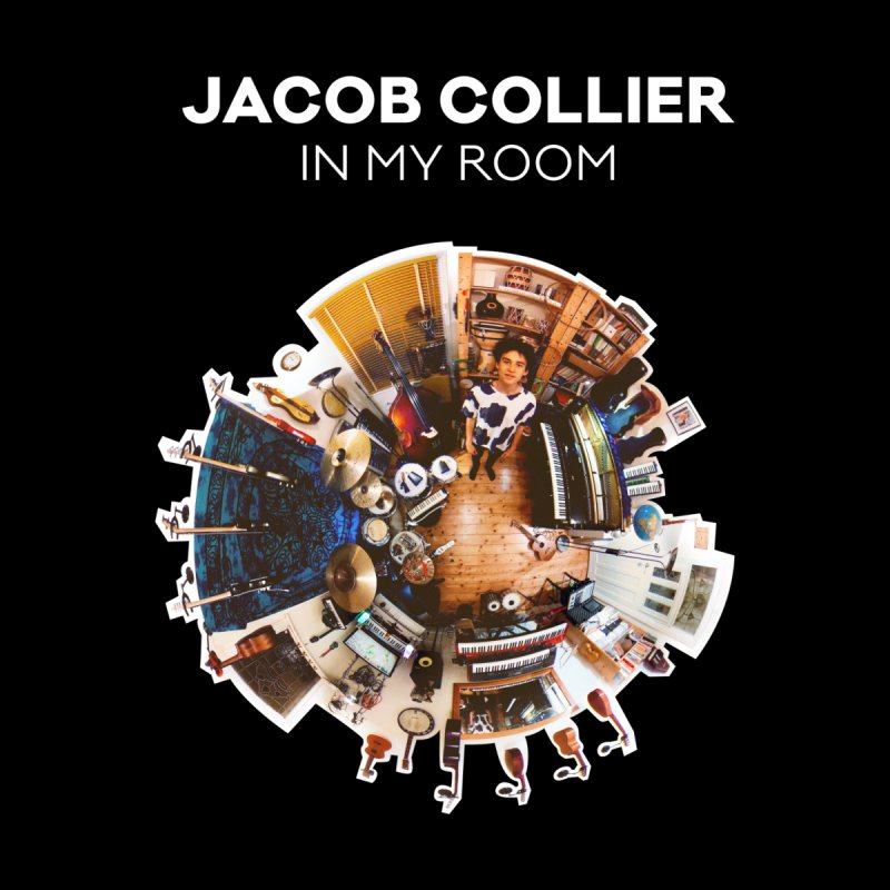 IN MY ROOM – JACOB COLLIER (white text) by Jacob Collier's Shop
