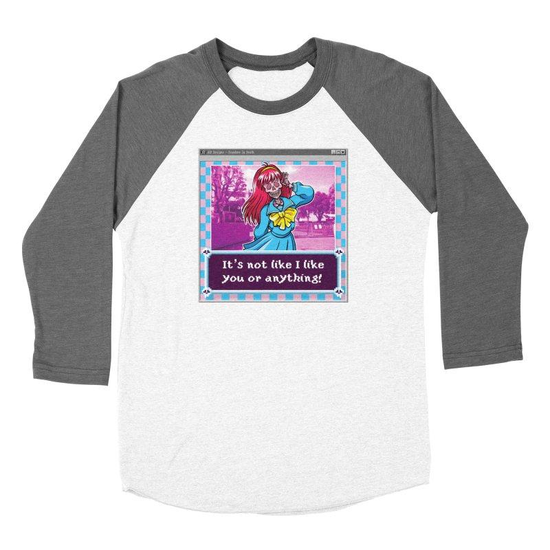Tsundere In Death Women's Longsleeve T-Shirt by JCP Designs - Original Designs by Jacob C. Paul