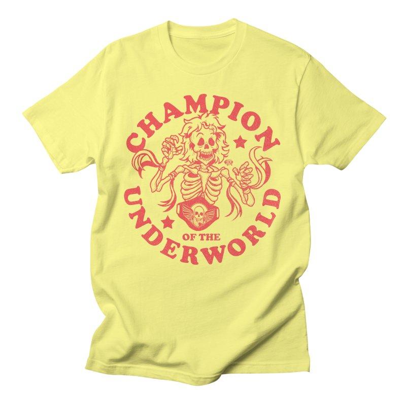 Champion of the Underworld Men's T-Shirt by JCP Designs - Original Designs by Jacob C. Paul