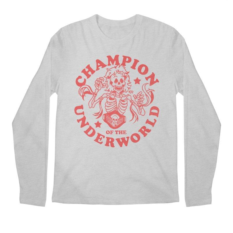Champion of the Underworld Men's Longsleeve T-Shirt by JCP Designs - Original Designs by Jacob C. Paul