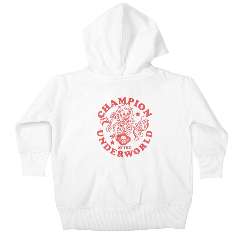Champion of the Underworld Kids Baby Zip-Up Hoody by JCP Designs - Original Designs by Jacob C. Paul
