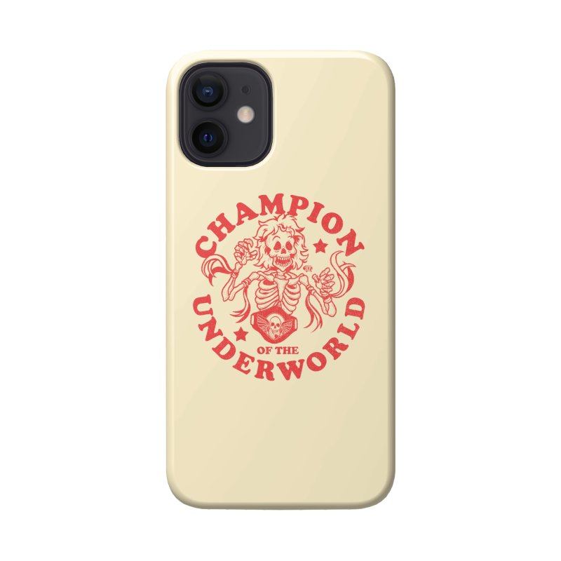 Champion of the Underworld Accessories Phone Case by JCP Designs - Original Designs by Jacob C. Paul