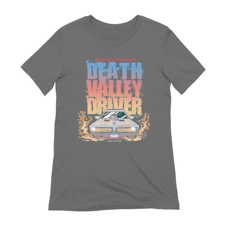 Death Valley Driver Women's T-Shirt by JCP Designs - Original Designs by Jacob C. Paul