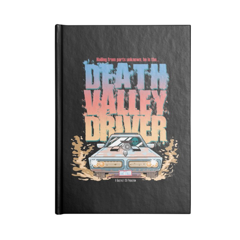 Death Valley Driver Accessories Notebook by JCP Designs - Original Designs by Jacob C. Paul