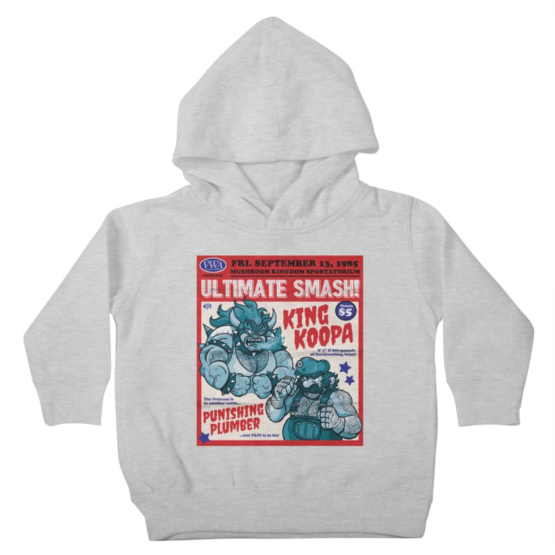 Video Wrestling Association Presents Ultimate Smash! Kids Toddler Pullover Hoody by JCP Designs - Original Designs by Jacob C. Paul