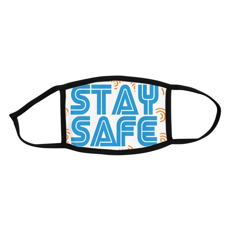 Stay Safe (Dream Edition) Accessories Face Mask by JCP Designs - Original Designs by Jacob C. Paul