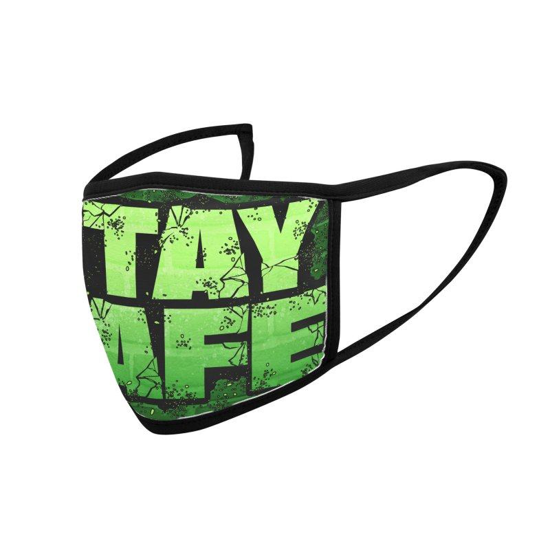 Stay Safe (Smash Edition) Accessories Face Mask by JCP Designs - Original Designs by Jacob C. Paul