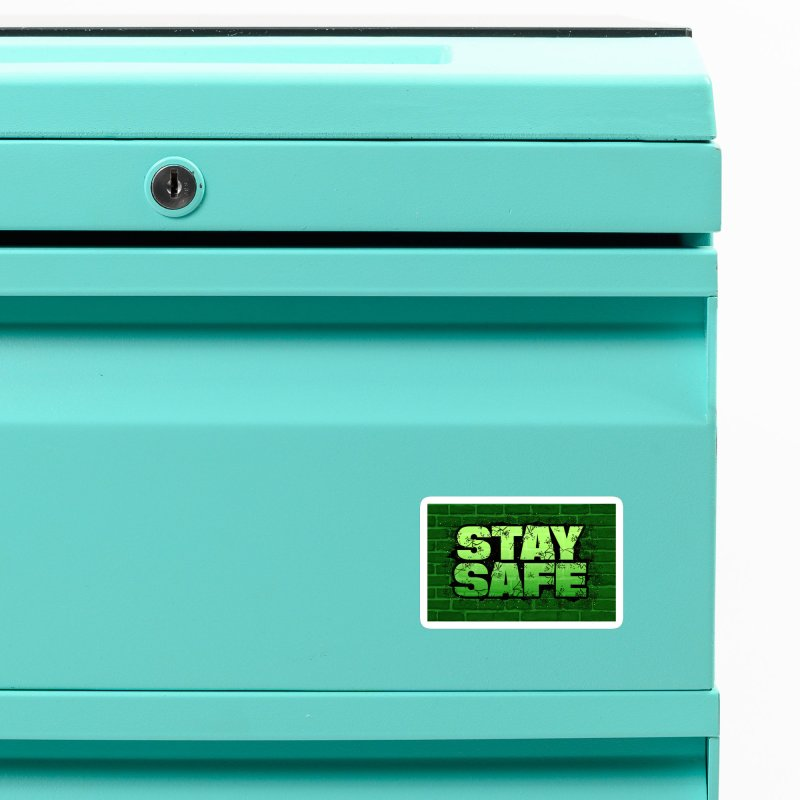 Stay Safe (Smash Edition) Accessories Magnet by JCP Designs - Original Designs by Jacob C. Paul