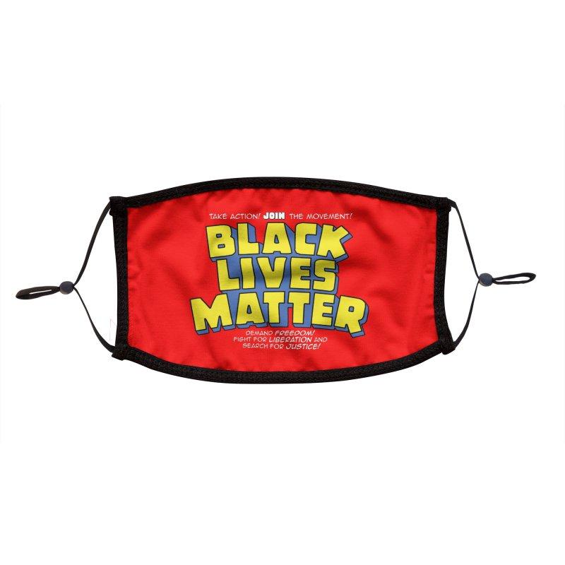 Black Lives Matter: Superheroes - Black Lives Matter Charity Design Accessories Face Mask by JCP Designs - Original Designs by Jacob C. Paul