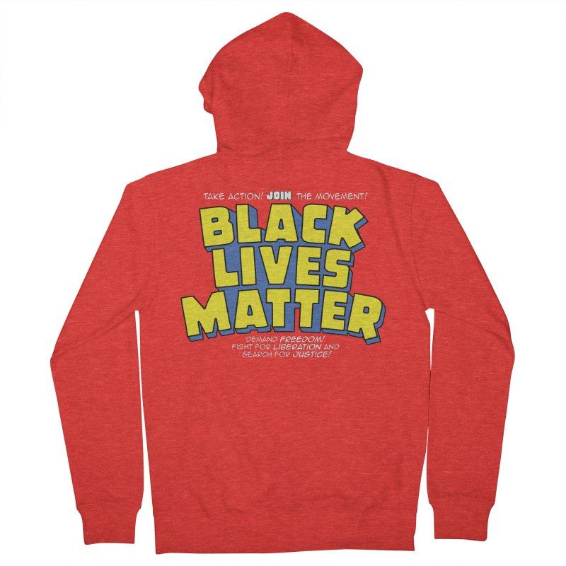 Black Lives Matter: Superheroes - Black Lives Matter Charity Design Women's Zip-Up Hoody by JCP Designs - Original Designs by Jacob C. Paul