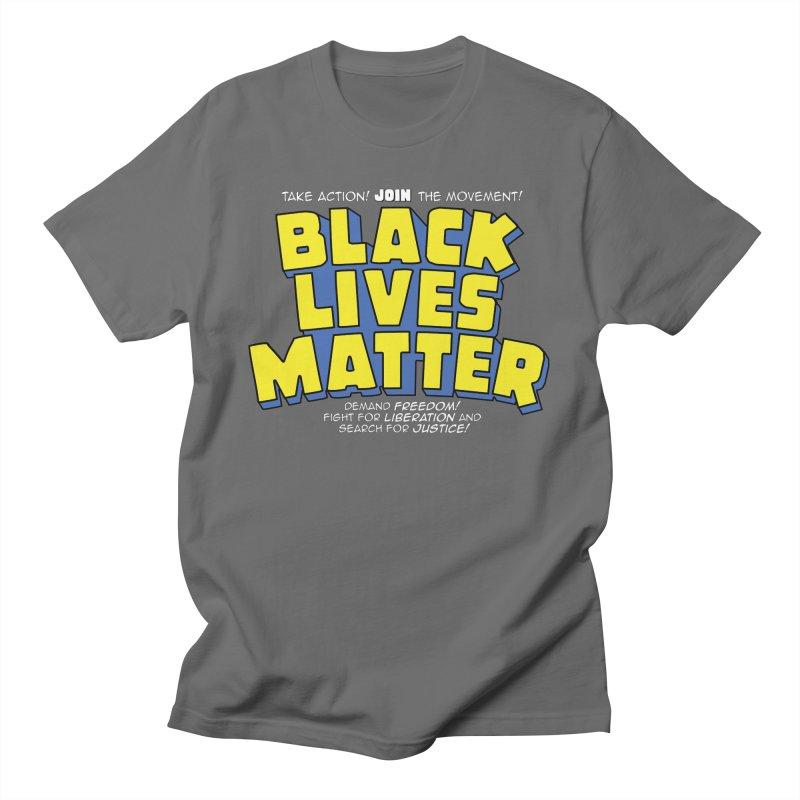 Black Lives Matter: Superheroes - Black Lives Matter Charity Design Men's T-Shirt by JCP Designs - Original Designs by Jacob C. Paul