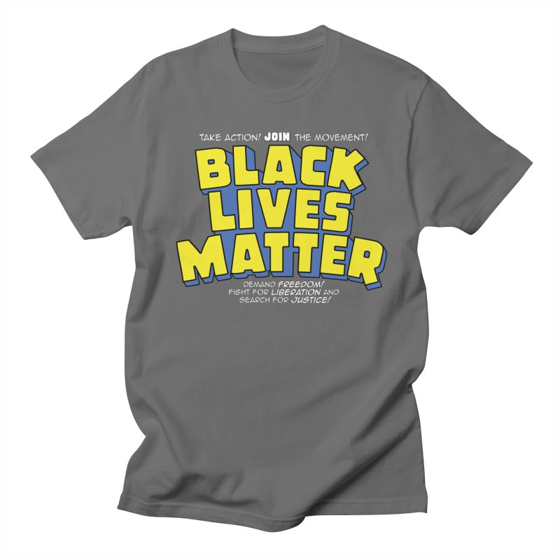 Black Lives Matter: Superheroes - Black Lives Matter Charity Design Men's T-Shirt by JCP Designs - Original Designs by Jacob C. Paul