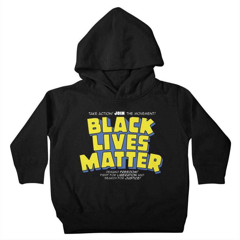 Black Lives Matter: Superheroes - Black Lives Matter Charity Design Kids Toddler Pullover Hoody by JCP Designs - Original Designs by Jacob C. Paul