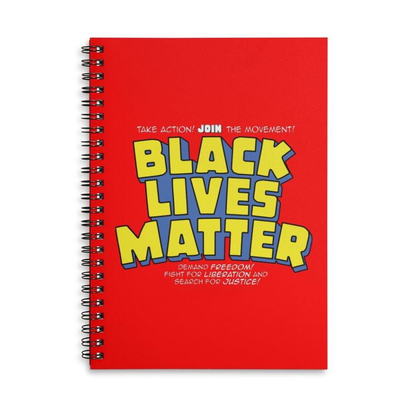 Black Lives Matter: Superheroes - Black Lives Matter Charity Design Accessories Notebook by JCP Designs - Original Designs by Jacob C. Paul