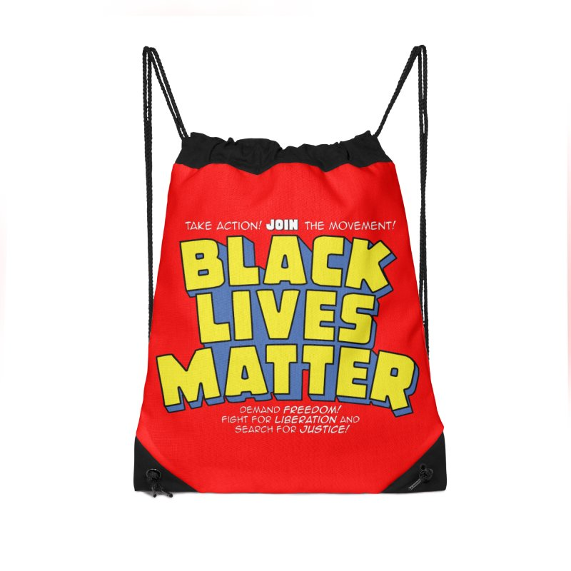 Black Lives Matter: Superheroes - Black Lives Matter Charity Design Accessories Bag by JCP Designs - Original Designs by Jacob C. Paul
