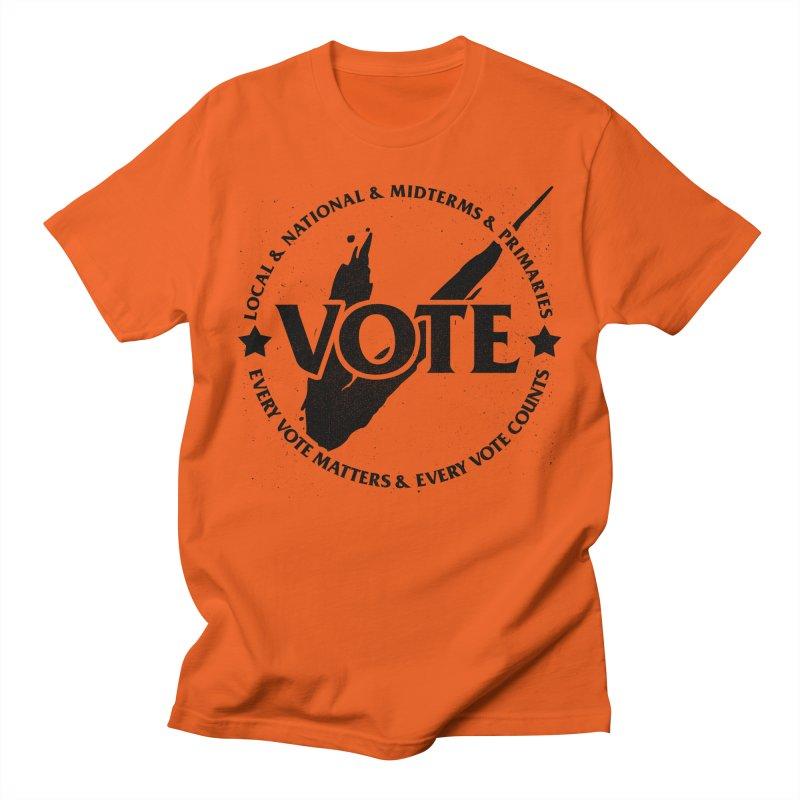 Vote (Dark Text) - Fair Fight Charity Design Men's T-Shirt by JCP Designs - Original Designs by Jacob C. Paul