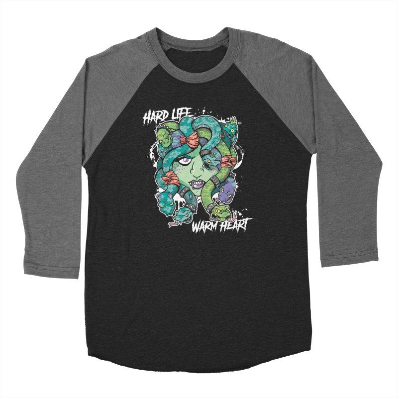Hard Life, Warm Heart Women's Longsleeve T-Shirt by JCP Designs - Original Designs by Jacob C. Paul