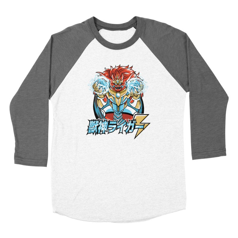 Beast King of Thunder - Stop AAPI Hate Charity Design Women's Longsleeve T-Shirt by JCP Designs - Original Designs by Jacob C. Paul