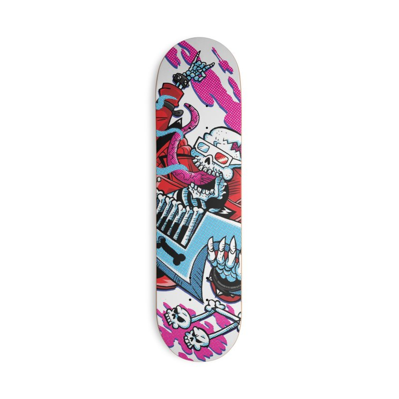 R-A-D Skeleton! Accessories Skateboard by JCP Designs - Original Designs by Jacob C. Paul
