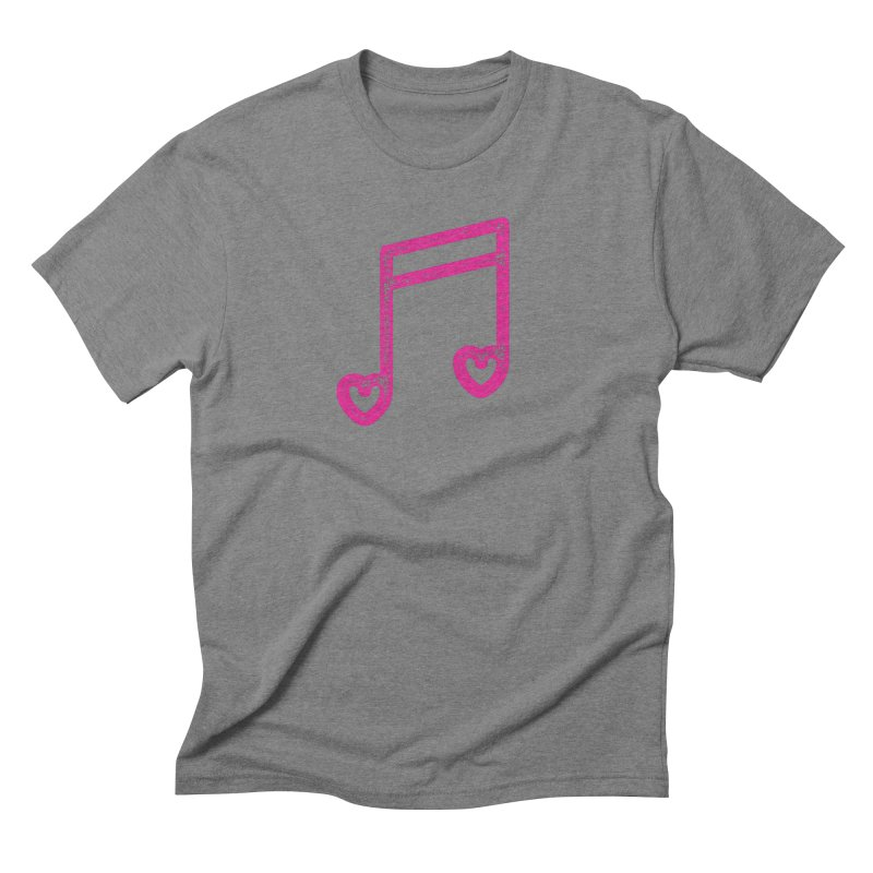 Music Lover Men's Triblend T-Shirt by Jacob Patrick