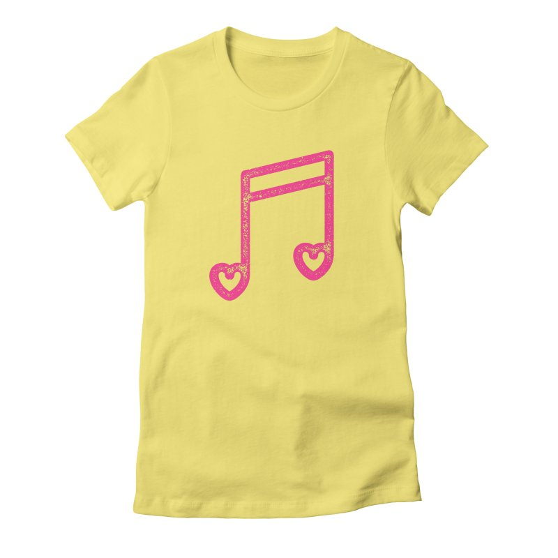 Music Lover Women's Fitted T-Shirt by Jacob Patrick
